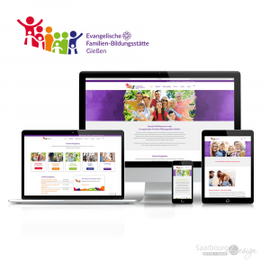 Darstellung der Webseite: www.fbs-gi.de