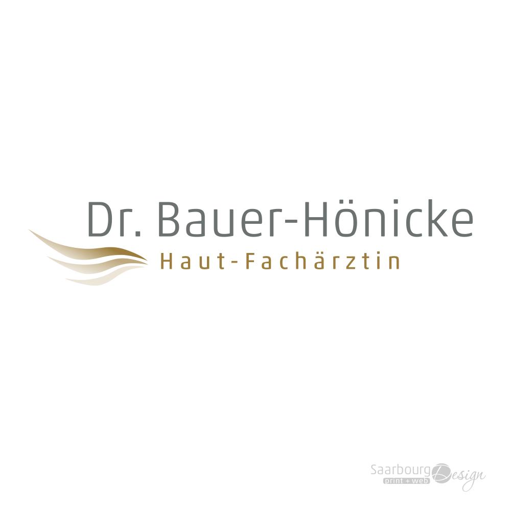 Darstellung des Logos der Hautärztin Radha Bauer in Frankfurt