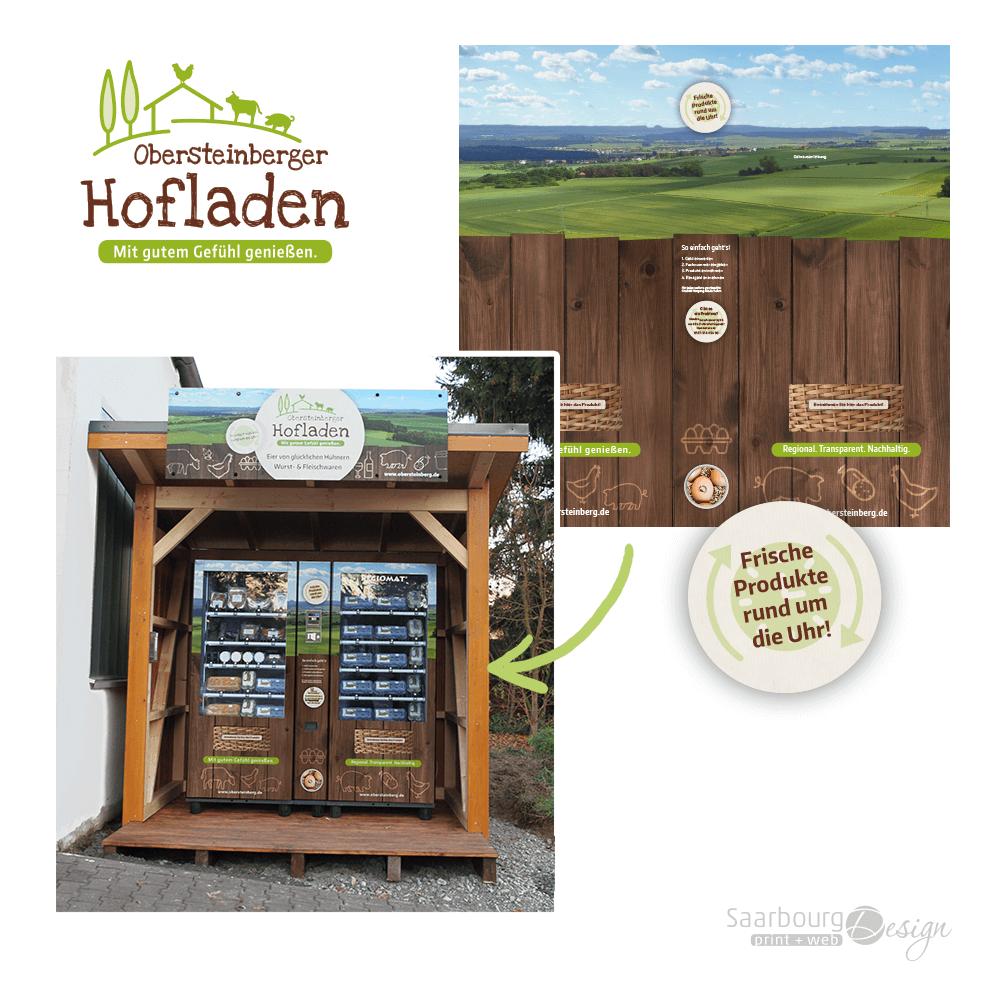 Foto eines Automaten des Obersteinberger Hofladen Pohlheim