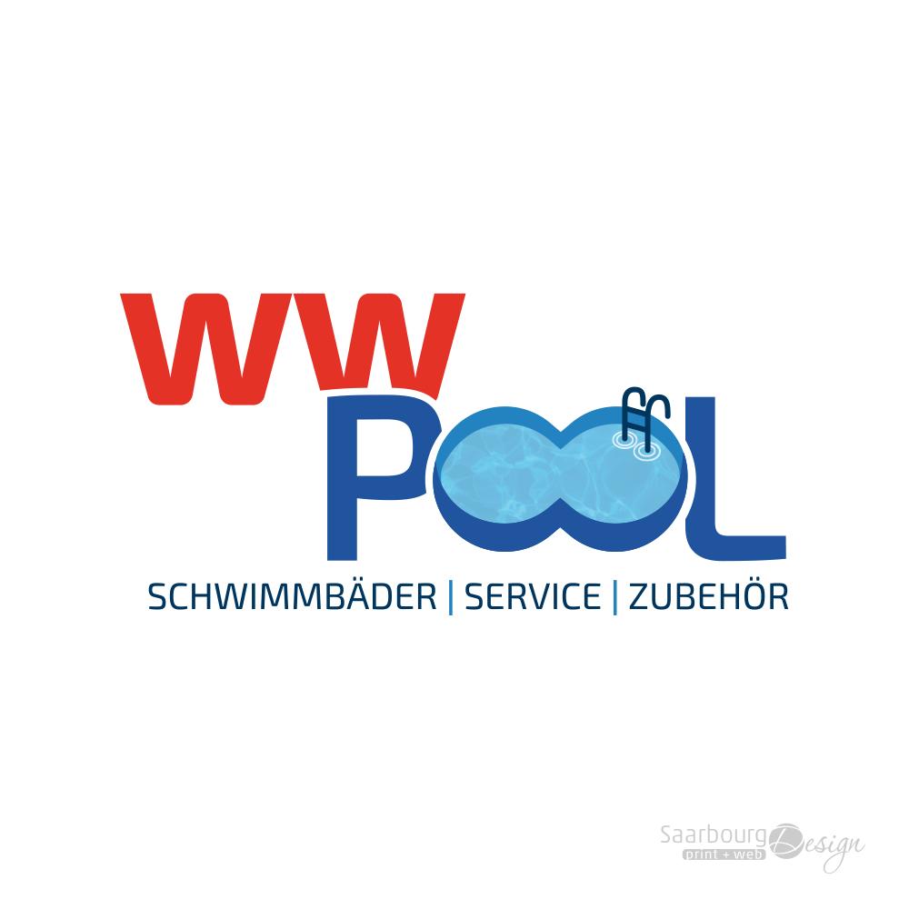 Darstellung Logos des Poolservice ww-pool in Reißkirchen