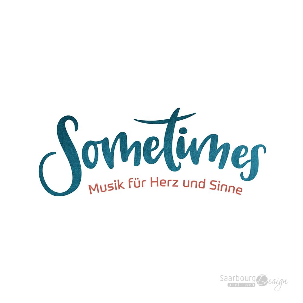 Darstellung des Logos des Musik-Duos Sometimes