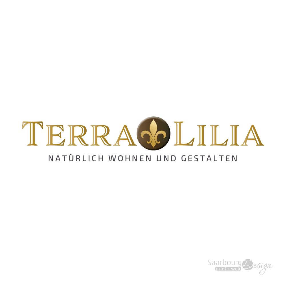 Darstellung des Logos von TerraLilia- Natürlich Wohnen und Gestalten