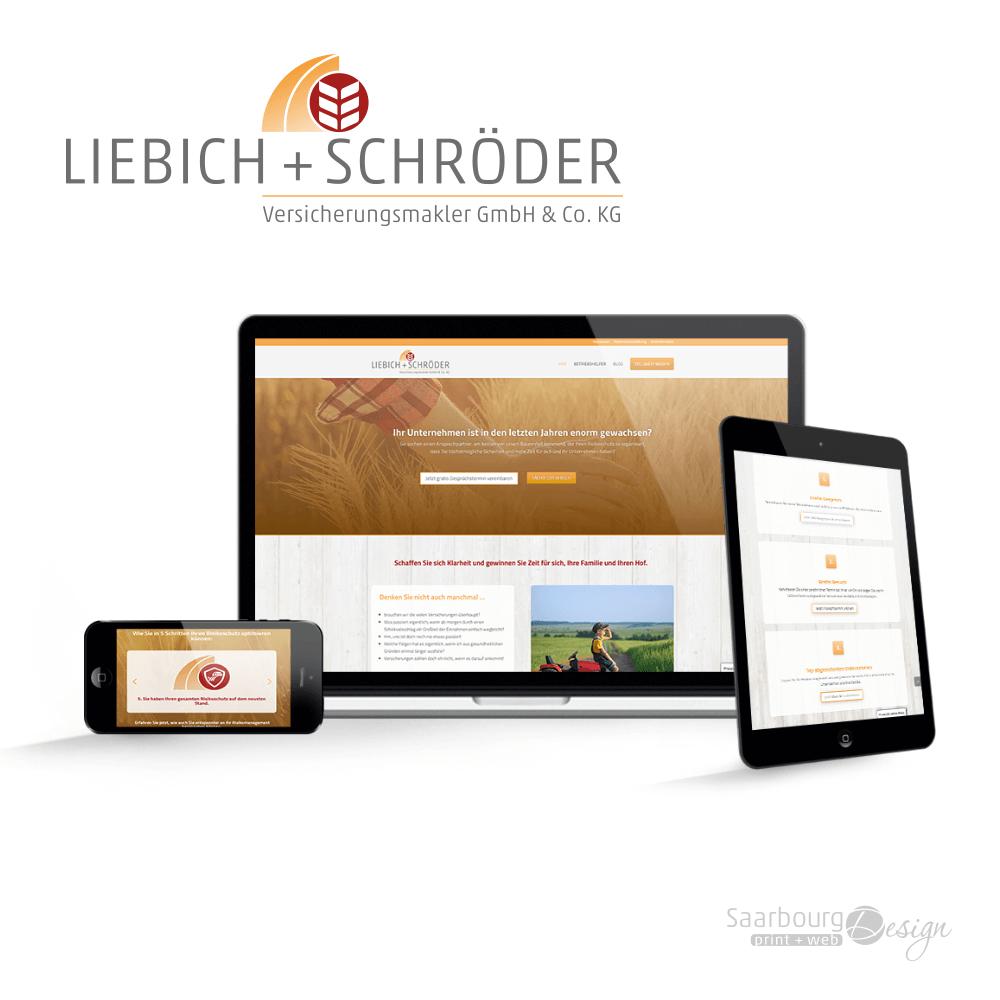 Darstellung der Webseite: www.liebichundschroeder.de