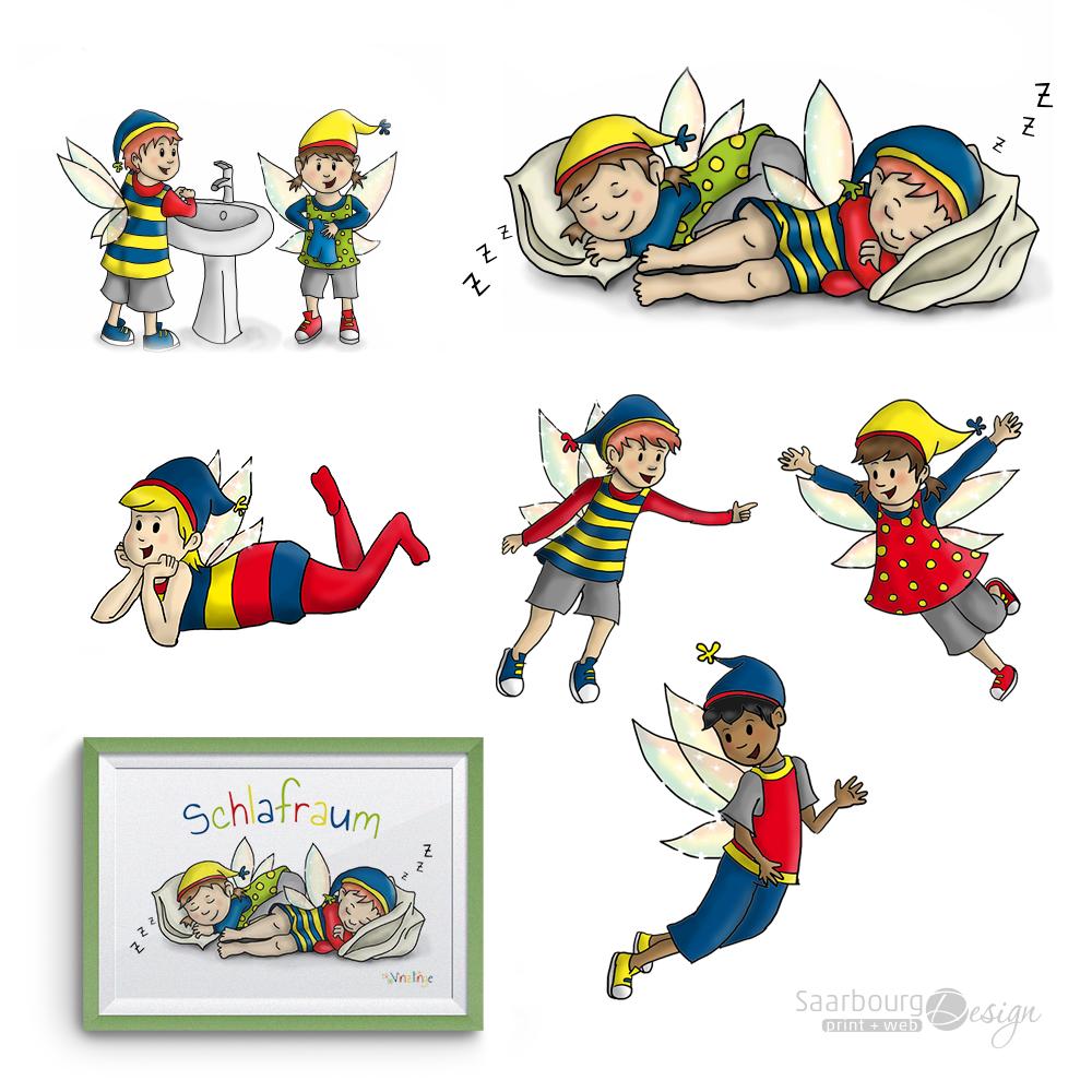 Darstellung zu KiTa-Illustrationen