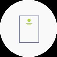 Logoanwendung auf Briefpapier