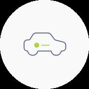 Logoanwendung auf Fahrzeugen